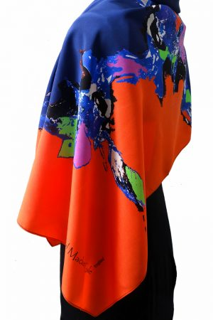 Hawaiian Dawn Silk Scarf